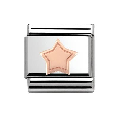 Buy Nomination Rose Gold Star