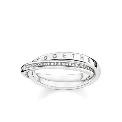 Buy Thomas Sabo Diamond Together Forever Ring 60