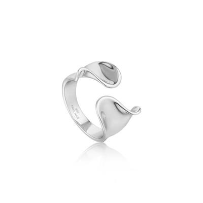 Buy Ania Haie Silver Wide Twist Ring