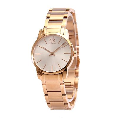 Buy Calvin Klein Rose Gold City Watch