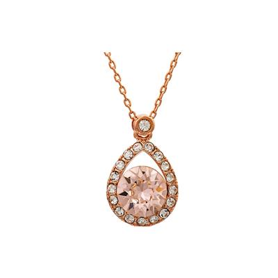 Buy Lily and Rose Emmylou Rose Gold Silk Necklace
