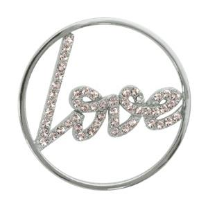 Buy Nikki Lissoni Sparkling Love Silver Coin 33mm
