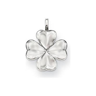 Buy Thomas Sabo Sterling Silver Four Leaf Clover Special Additions Pendant