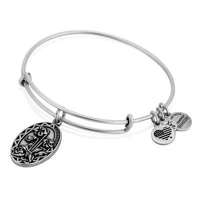 Buy Alex and Ani Because I Love You Godmother in Rafaelian Silver