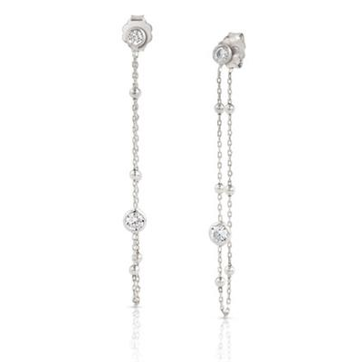 Buy Nomination Bella Stone Set Drop Earrings in Silver