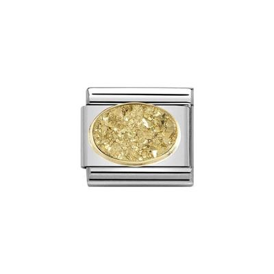 Buy Nomination Drusie Gold Crystal Charm