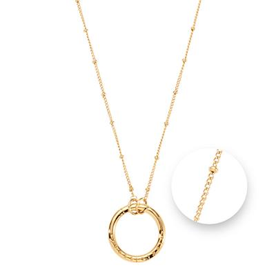 Buy Nikki Lissoni Gold Ring Ball Amulet Necklace 60cm