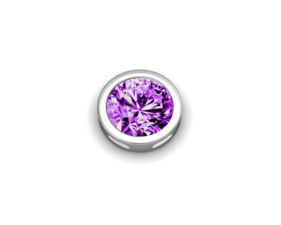 Buy Key Moments Silver February Birthstone
