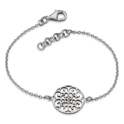 Buy Engelsrufer Filigree Disc Bracelet in Silver