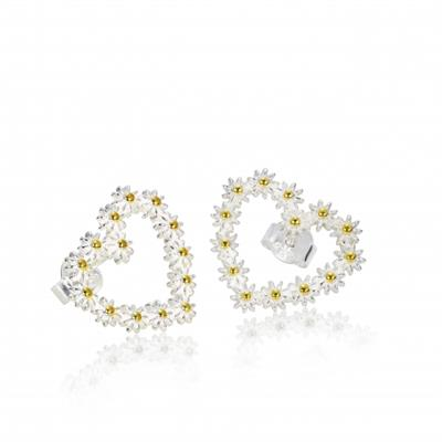 Buy Daisy 11mm Iota Heart Studs