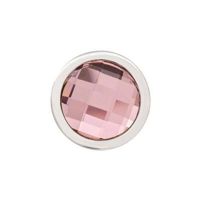 Buy Nikki Lissoni Silver Swarovski Pink Ring Coin