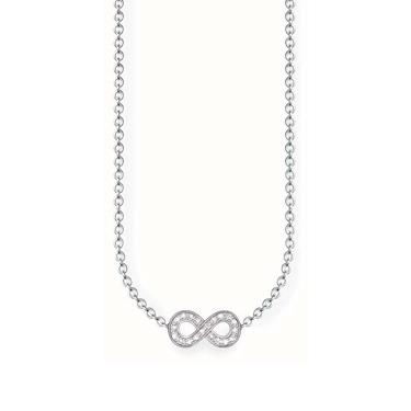 Buy Thomas Sabo Diamond Infinity Necklace 45cm