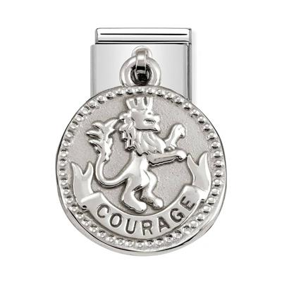 Buy Nomination Silver Lion Courage Charm