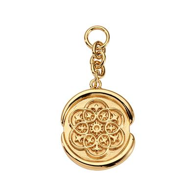 Buy Nikki Lissoni Gold Wax Seal Amulet