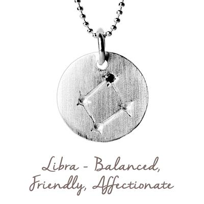 Buy Mantra Libra Star Map in Silver