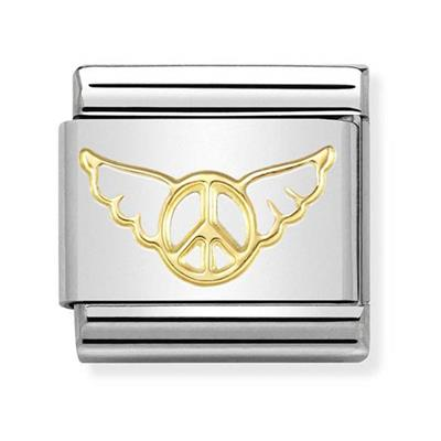 Buy Nomination Gold Angel of Peace Charm