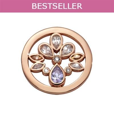 Buy Nikki Lissoni Rose Gold Orchid in Bloom Coin 23mm