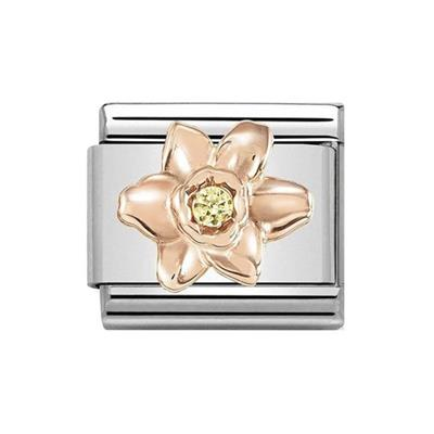 Buy Nomination Daffodil with Yellow CZ Charm