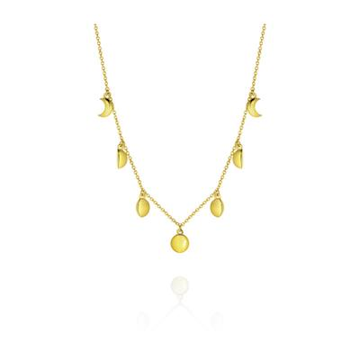 Buy Daisy Stages of the Moon Gold Choker