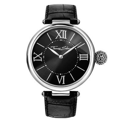 Buy Thomas Sabo Om Black Karma Watch Stainless Steel