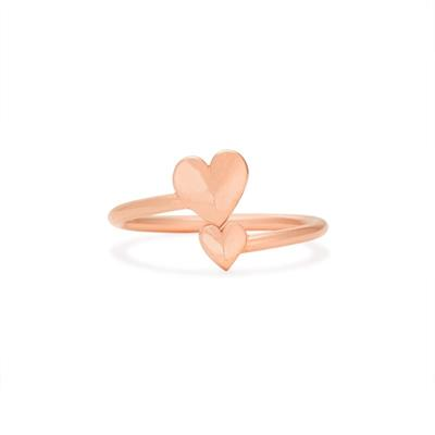 Buy Alex and Ani Romance Heart Ring Wrap in Rose Gold