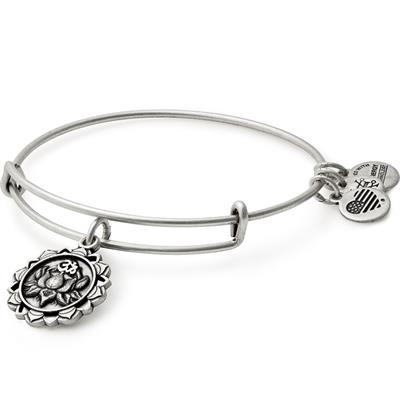 Buy Alex and Ani Lotus Peace Petals in Rafaelian Silver Finish
