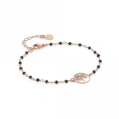 Buy Nomination Antibes Rose Gold Plated Tree of Life Bracelet