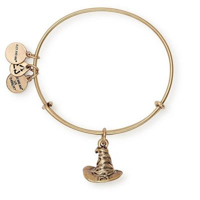 Buy Alex and Ani Harry Potter Sorting Hat Bangle in Rafaelian Gold