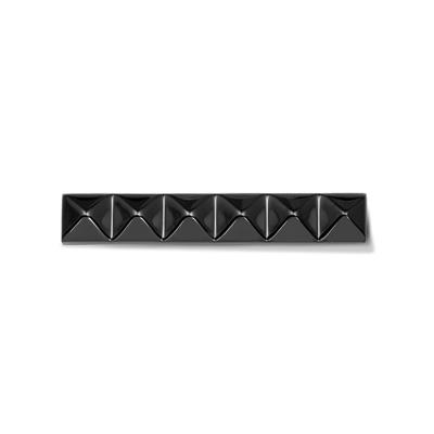 Buy Take What You Need Squared Studs Black Bar with Swarovski