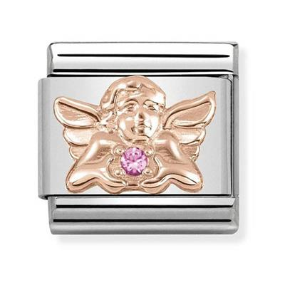 Buy Nomination Rose Gold Angel of Happiness Charm