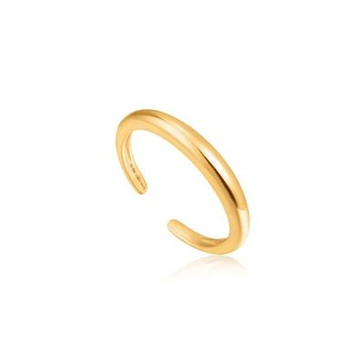 Buy Ania Haie Luxe Minimalism Adjustable Gold Band Ring