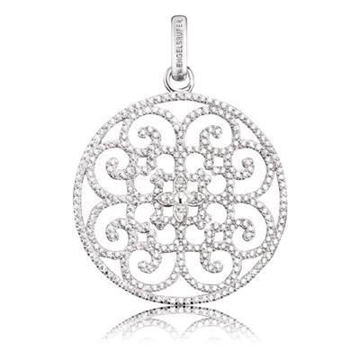 Buy Engelsrufer Filigree Disc CZ Pendant in Silver