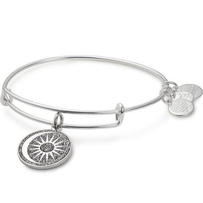 Buy Alex and Ani Cosmic Balance Colour Infusion Bangle in Shiny Silver