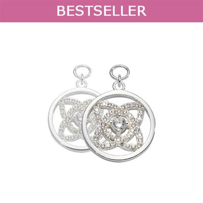 Buy Nikki Lissoni Silver Eastern Lace Earring Coins