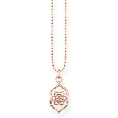 Buy Thomas Sabo Rose Gold Third Eye Chakra Necklace with CZ