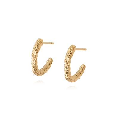 Buy Daisy Gold Coral Midi Hoops