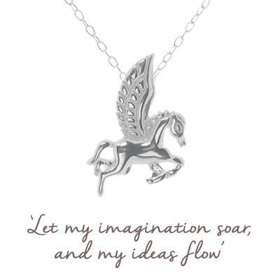 Buy Mantra Pegasus Necklace