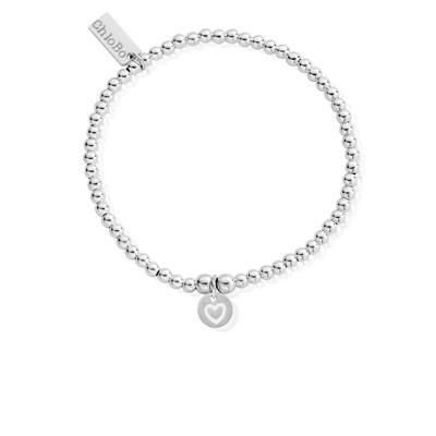 Buy ChloBo Cute Charm Heart in Circle Bracelet