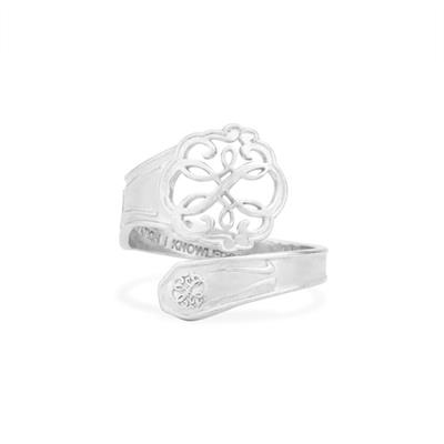 Buy Alex and Ani Path of life Spoon Ring in Silver
