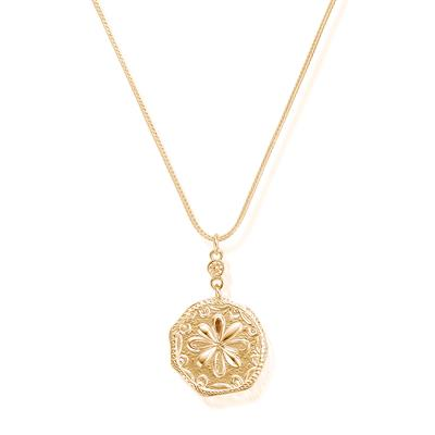 Buy ChloBo Ariella Gold Flower Coin Necklace
