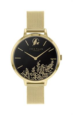 Buy Sara Miller Chelsea Bird Watch, Gold and Dark Grey