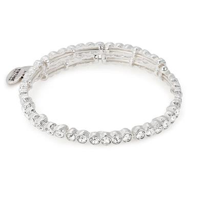 Buy Alex and Ani Snowbell Wrap in Shiny Silver