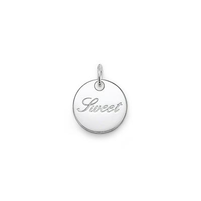 Buy Thomas Sabo Silver Round Sweet Disc - Special Additions Pendant