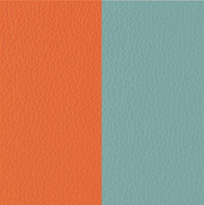 Buy Les Georgettes Orange / Mint Wide Leather