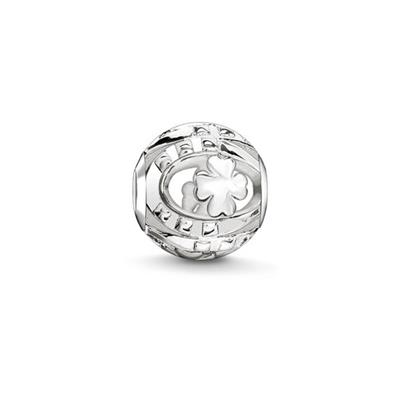 Buy Thomas Sabo Clover & Horseshoe Karma Bead Sterling Silver