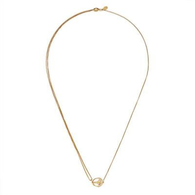 Buy Alex and Ani Unexpected Miracles Pull Chain Necklace in Gold
