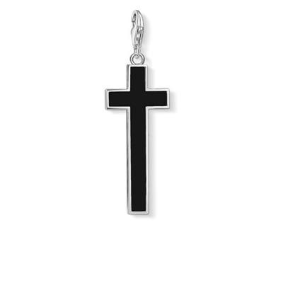 Buy Thomas Sabo Black Cross Pendant