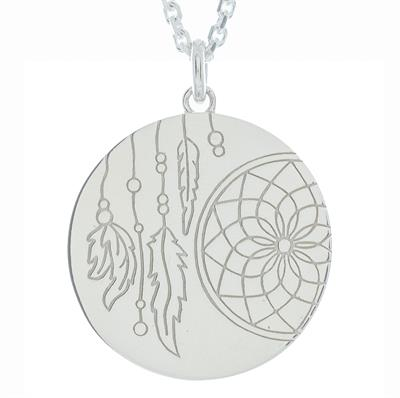 Buy MyMantra Dreamcatcher myMantra Necklace in Sterling Silver