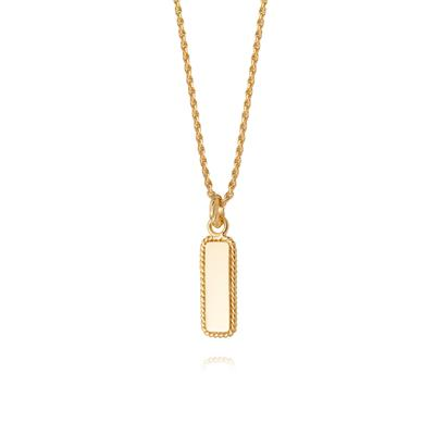 Buy Daisy Gold Rope Necklace