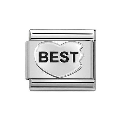 Buy Nomination BEST Heart Charm